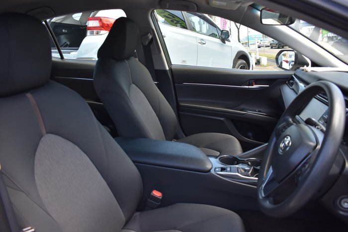 2019 Toyota Camry Ascent ASV70R Glacier White