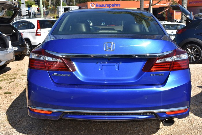 2016 Honda Accord VTi-L 9th Gen MY16 Brilliant Sporty Blue