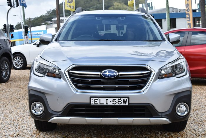 2018 Subaru Outback 2.5i 5GEN MY18 Four Wheel Drive Ice Silver
