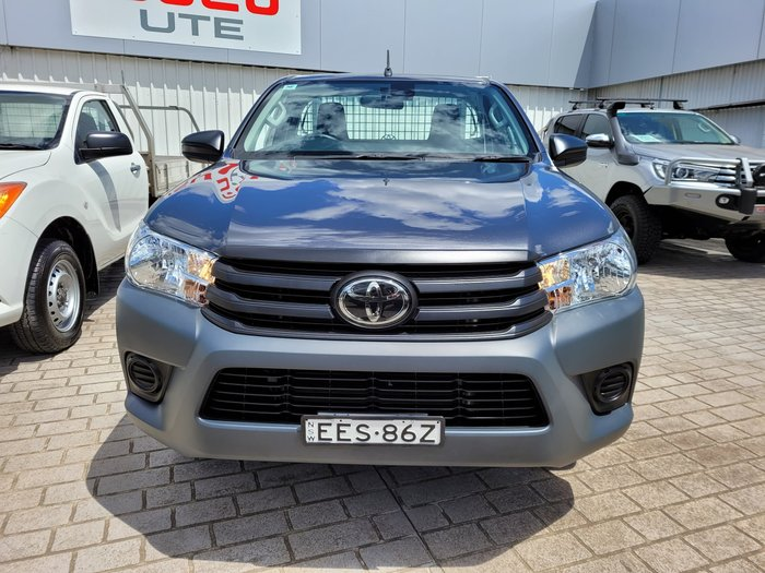 2019 Toyota Hilux Workmate TGN121R Graphite