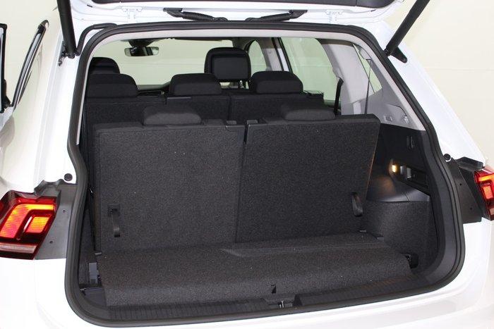 2020 Volkswagen Tiguan 110TSI Comfortline Allspace 5N MY20 Pure White
