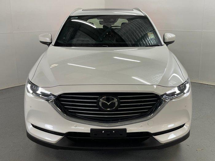 2020 Mazda CX-8 Asaki KG Series 4X4 On Demand Snowflake White Pearl