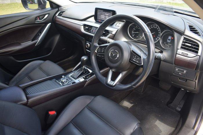 2017 Mazda 6 GT GL Series Sonic Silver