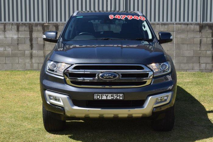 2016 Ford Everest Trend UA 4X4 Dual Range Blue Reflex