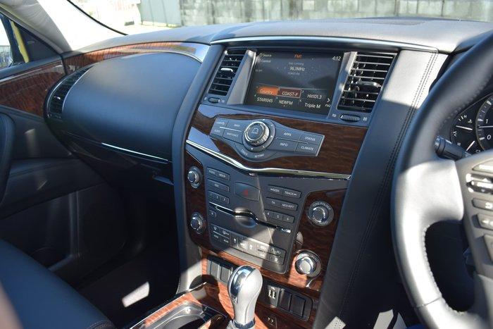 2020 Nissan Patrol Ti Y62 Series 5 MY20 4X4 Dual Range Moonstone White