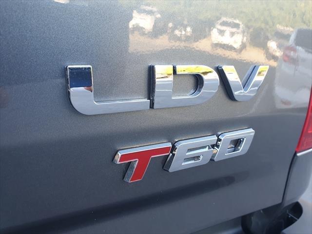 2020 LDV T60 LUXE T60 Double Cab Mega Tub AT Lava Grey, Metallic
