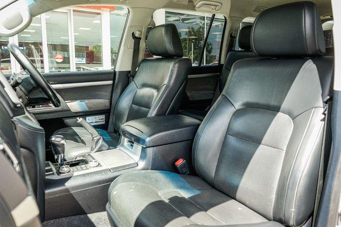 2017 Toyota Landcruiser Altitude VDJ200R 4X4 Dual Range Silver