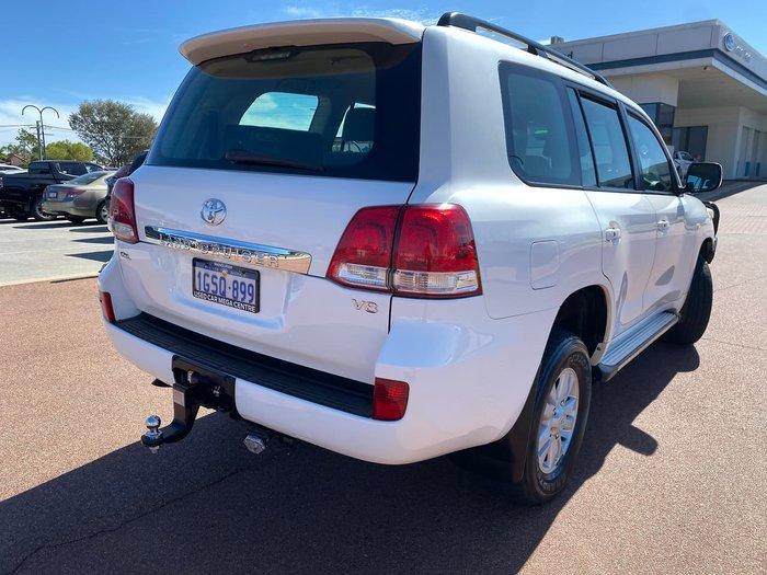 2008 Toyota Landcruiser GXL VDJ200R 4X4 Constant White