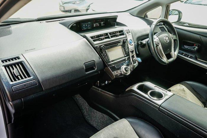 2015 Toyota Prius V ZVW40R White