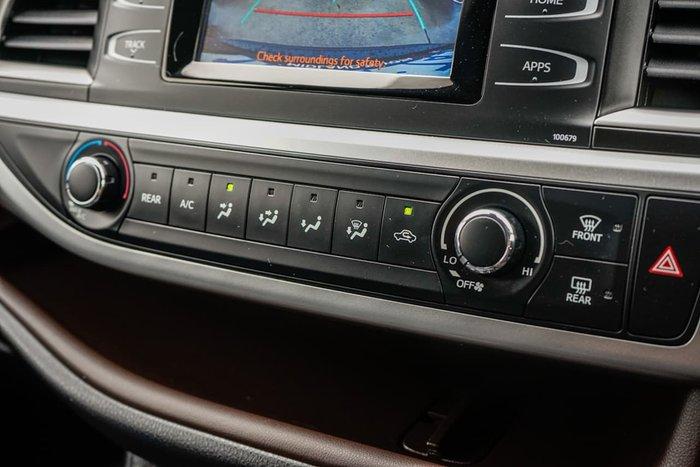 2019 Toyota Kluger GX GSU50R Black