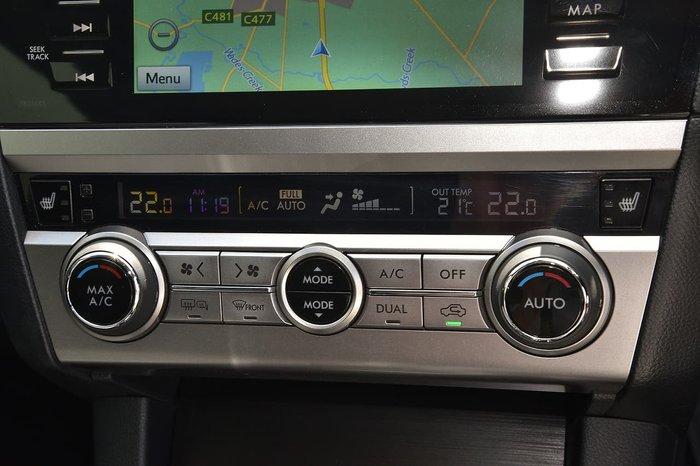 2017 Subaru Outback 2.5i Premium 5GEN MY18 Four Wheel Drive Black
