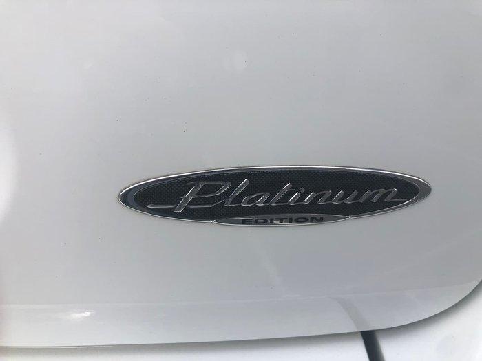 2012 Mitsubishi Outlander Platinum ZH MY12 White