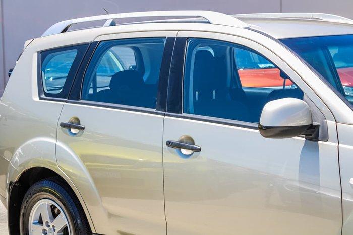 2008 Mitsubishi Outlander LS ZG MY08 4X4 On Demand Gold