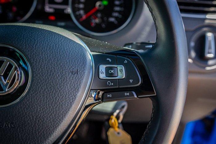 2017 Volkswagen Polo 81TSI Comfortline 6R MY17 Blue
