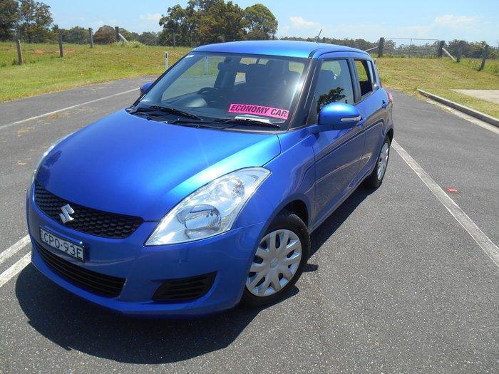 2013 Suzuki Swift GL FZ Boost Blue