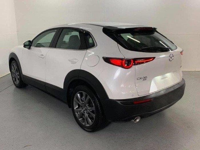 2020 Mazda CX-30 X20 Astina DM Series 4X4 On Demand Snowflake White Pearl