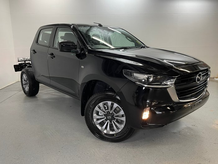 2020 Mazda BT-50 XT TF True Black