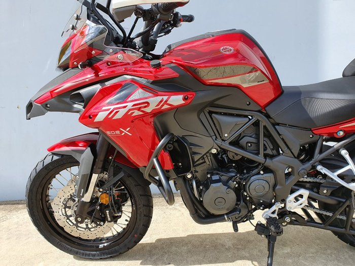 2021 Benelli TRK 502 (ABS) Red