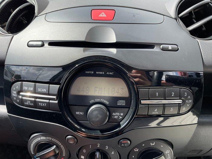 2012 Mazda 2 Neo DE Series 2 MY13 Aluminium
