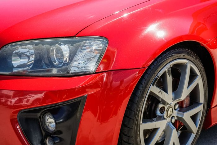 2007 Holden Special Vehicles GTS E Series Red