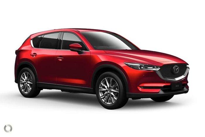 2020 Mazda CX-5 Akera KF Series 4X4 On Demand Soul Red Crystal