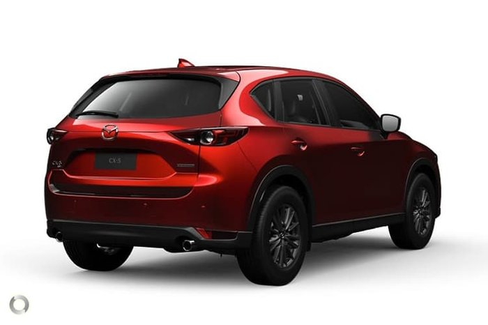 2020 Mazda CX-5 Touring KF Series 4X4 On Demand Soul Red Crystal
