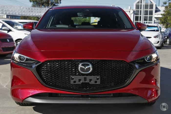 2020 Mazda 3 G20 Evolve BP Series Soul Red Crystal