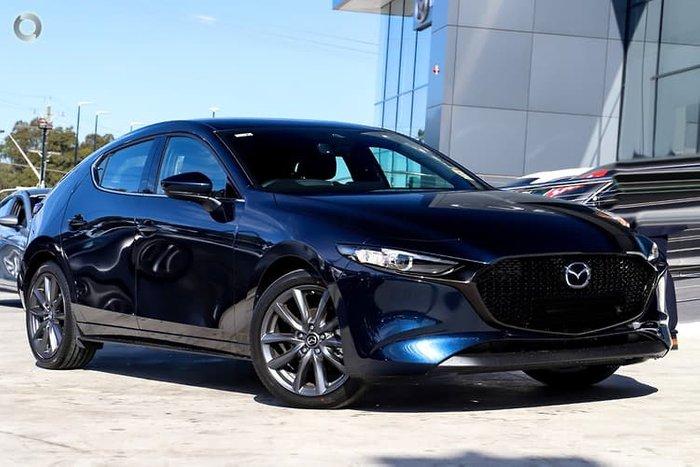 2020 Mazda 3 G25 GT BP Series Deep Crystal Blue