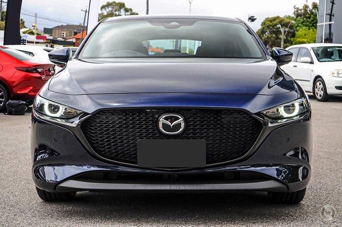 2020 Mazda 3 G25 Astina BP Series Deep Crystal Blue