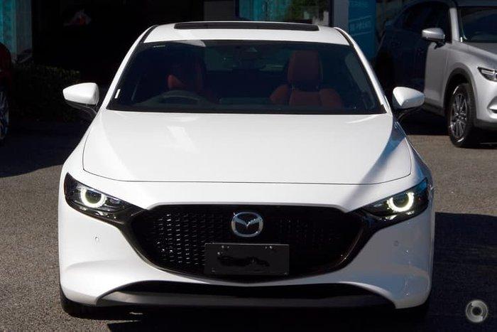 2020 Mazda 3 100th Anniversary BP Series Snowflake White Pearl