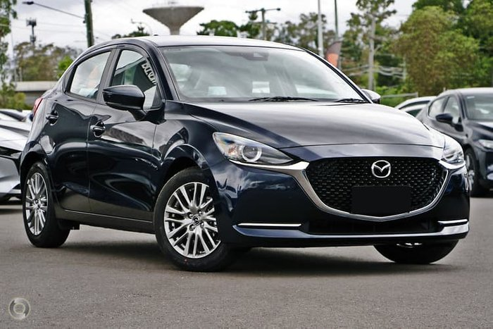 2020 Mazda 2 G15 Evolve DJ Series Deep Crystal Blue