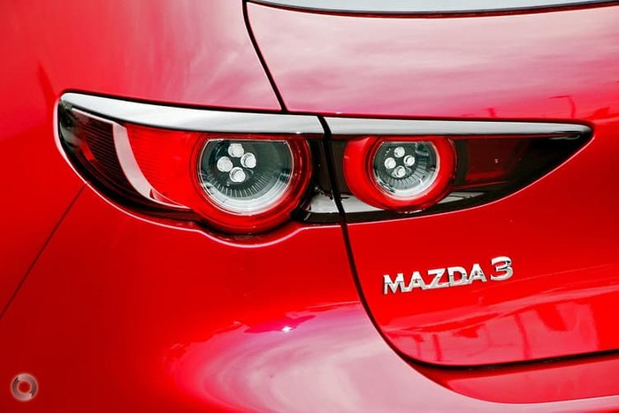 2020 Mazda 3 G25 Evolve BP Series Soul Red Crystal