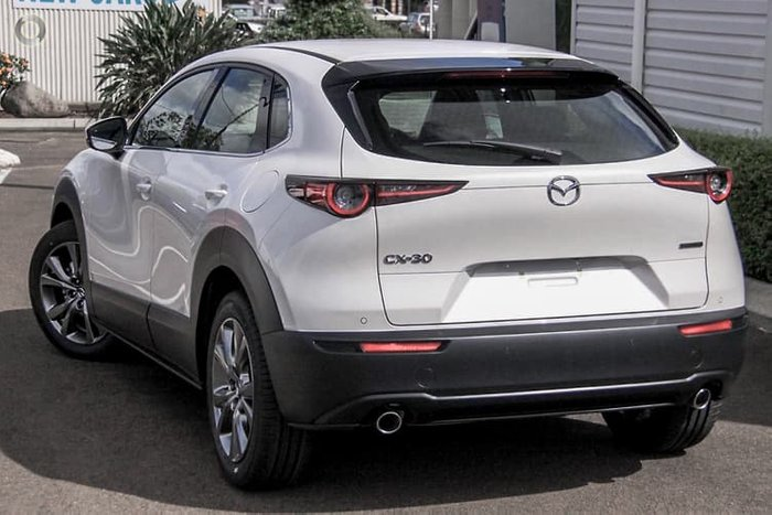 2020 Mazda CX-30 G25 Astina DM Series 4X4 On Demand Snowflake White Pearl