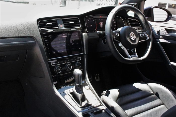 2019 Volkswagen Golf 110TSI Highline 7.5 MY19.5 Black