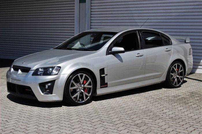 2007 Holden Special Vehicles GTS E Series Silver