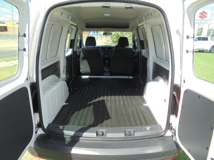 2017 Volkswagen Caddy TDI250 2KN MY18 White