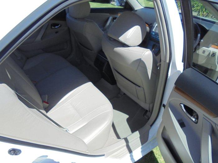2009 Toyota Aurion Prodigy GSV40R MY10 White