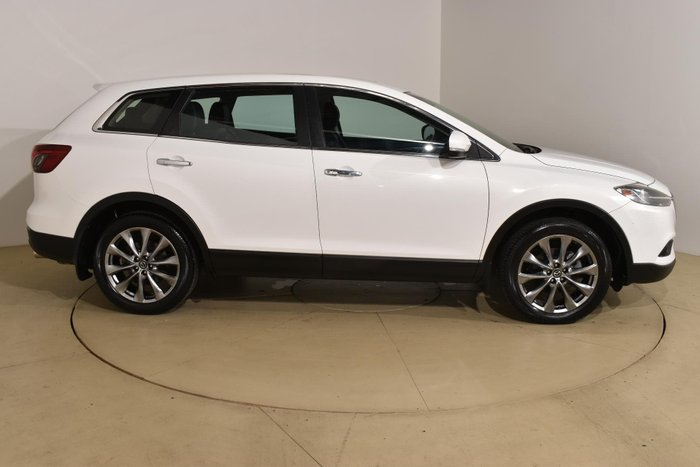 2015 Mazda CX-9 Luxury TB Series 5 Crystal White Pearl