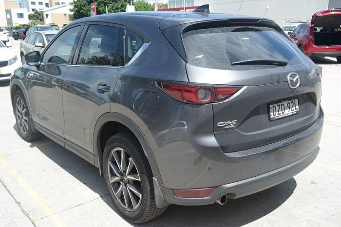 2018 Mazda CX-5 GT KF Series 4X4 On Demand Grey