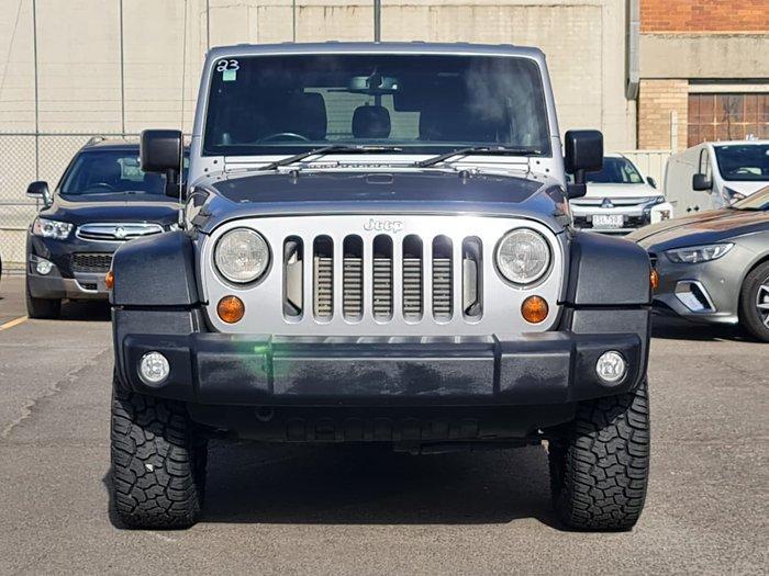 2013 Jeep Wrangler Unlimited Sport JK MY13 4X4 Silver