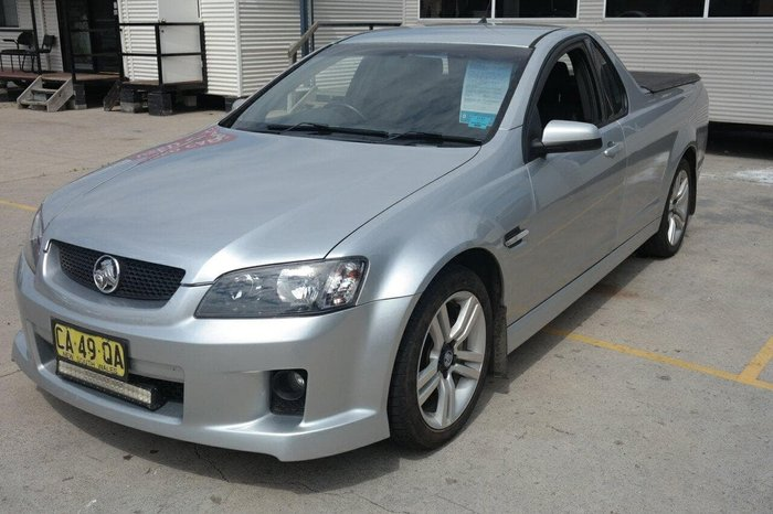 2009 Holden Ute SV6 VE MY09.5 Silver