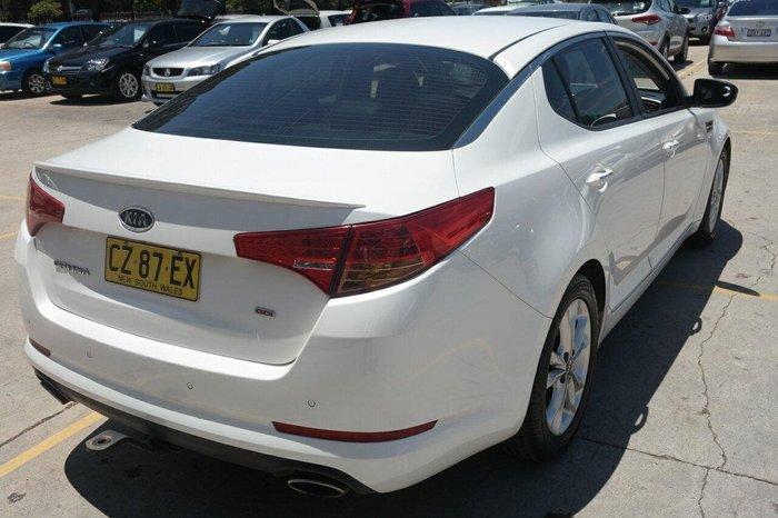 2012 Kia Optima Si TF MY12 White