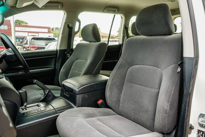 2017 Toyota Landcruiser GX VDJ200R 4X4 Dual Range White