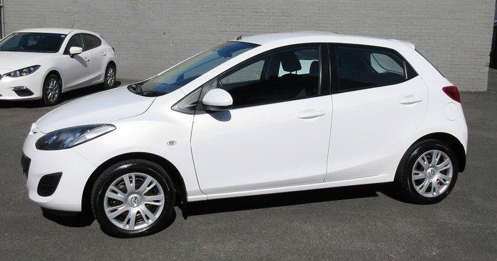 2012 Mazda 2 Neo DE Series 2 MY13 White