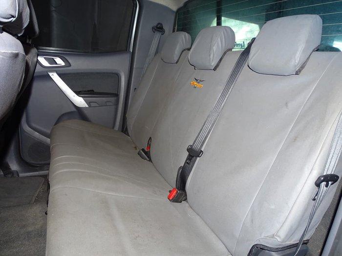 2012 Ford Ranger XLT PX 4X4 Dual Range Silver