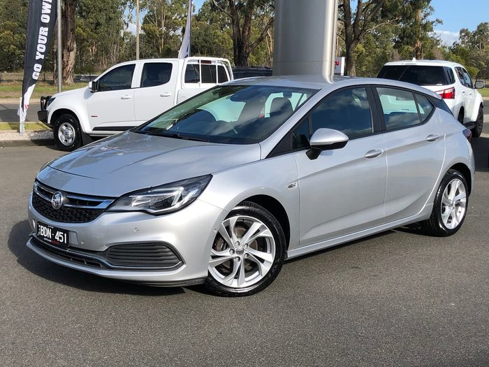 2018 Holden Astra RS BK MY18.5 Silver
