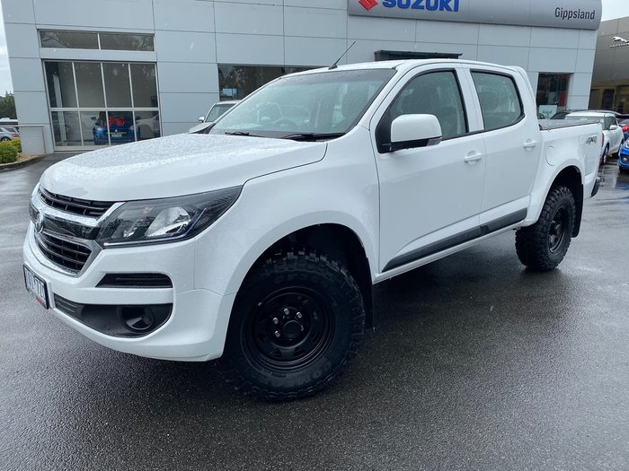 2019 Holden Colorado LS RG MY20 4X4 Dual Range White