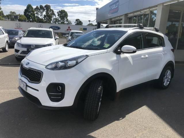 2017 Kia Sportage Si QL MY17 WHITE
