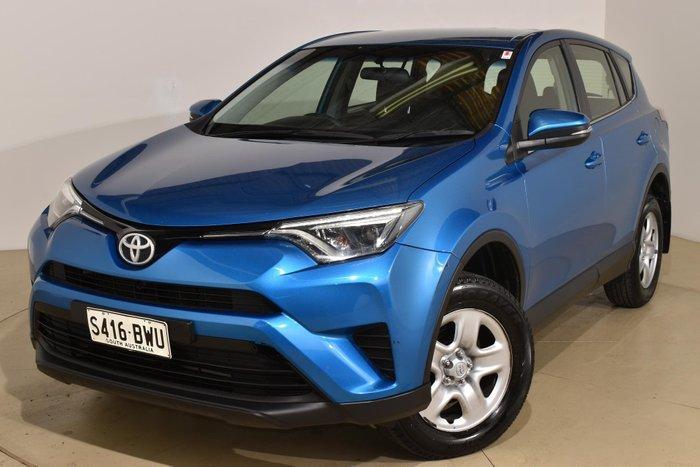 2016 Toyota RAV4 GX ASA44R 4X4 On Demand Blue Gem