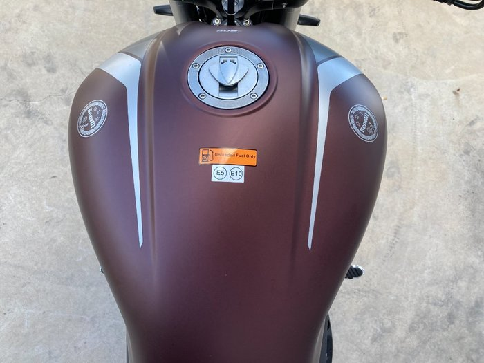 2021 Benelli 502C Red